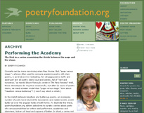 Poetry Foundation Cover Story-screen shot